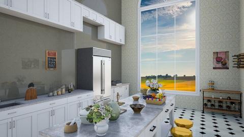 royal house kitchen - Classic - Kitchen  - by Keilla