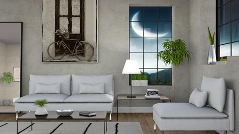 Moonlight - Minimal - Living room - by Sally Simpson