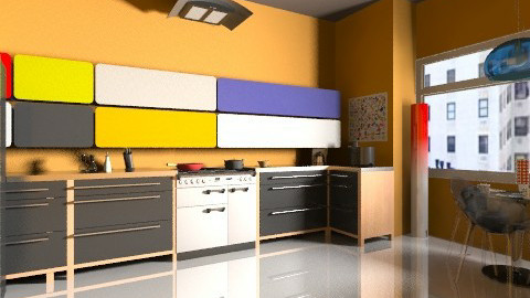 Kitchen1 - Minimal - Kitchen  - by Designerloft