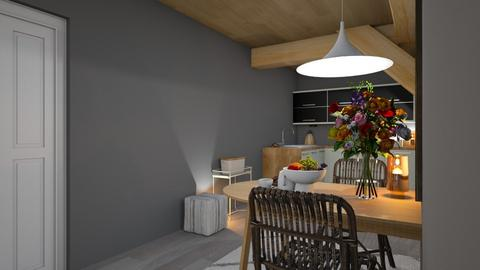 Container home - Living room  - by harassarah11