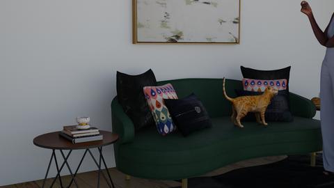 Design 3 Green living - Living room  - by kyle__bug757