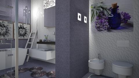 Soft Lavander  - Bathroom - by snjeskasmjeska