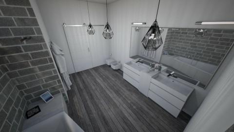Modern bath - Modern - Bathroom - by Nikodem Chudy