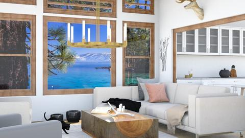 Home by the lake - Country - Living room  - by Norbosa