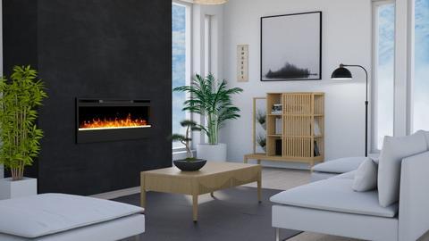 Japandi_Contest_Tuija - Living room  - by Tuija