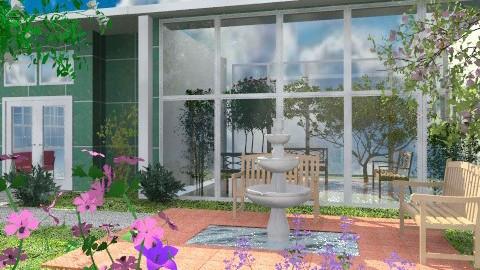 Municipal Atrium - Classic - Garden  - by Bibiche