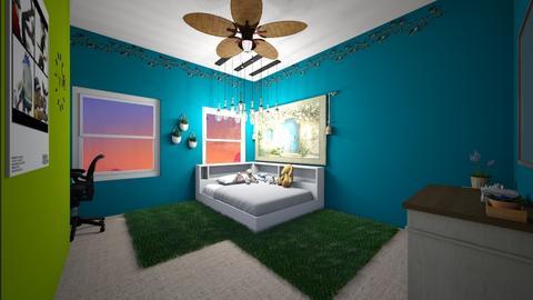 my room - Bedroom  - by AleishaRosa19