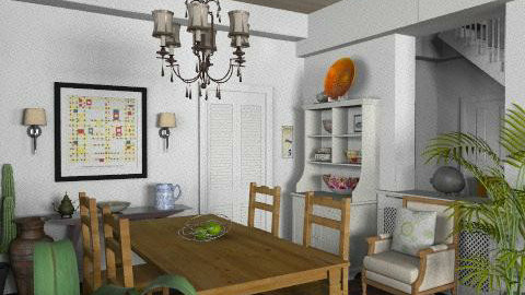 Newport Beach Dining Room4 - Vintage - Dining room - by LizyD