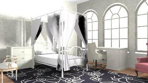 Dream Room - Vintage - Bedroom  - by HauntedSparks