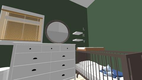 baby nursery measured - Modern - Kids room  - by eulampia