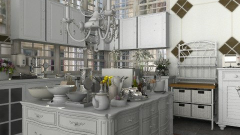 French apartment: kitchen - Classic - Kitchen - by Your well wisher