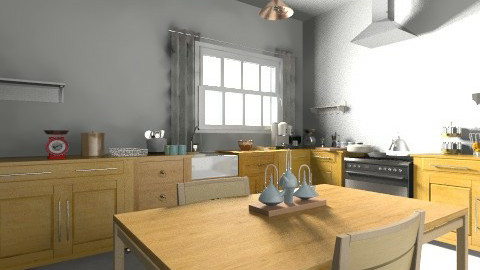 Cuisine test - Classic - Kitchen  - by Njaka