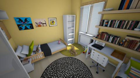 DI 2 - Classic - Kids room - by lubeckas