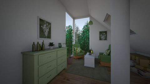 cottagecore - Living room  - by osmacik