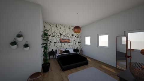 black - Bedroom  - by malinkna
