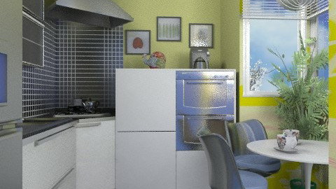 Contest kitchen 2 - Modern - Kitchen  - by liling