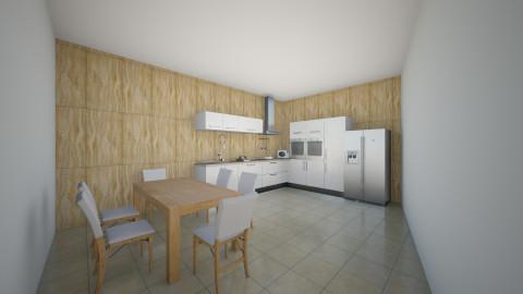 Bucatarie 13 - Rustic - Kitchen  - by Ionut Corbu