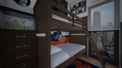 Twins Cramped Room - Bedroom  - by SammyJPili