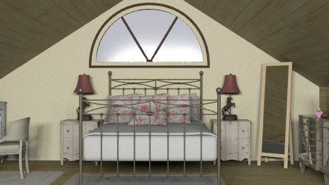 Attic Bedroom - Country - Bedroom  - by reedj0218