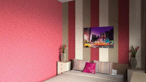 Bedroom - Retro - Bedroom  - by lauraswain