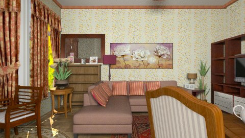 Silla - Classic - Living room  - by milyca8