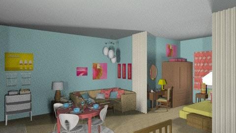 Rhoda Moves to NY 2 - Vintage - Bedroom  - by Patti58