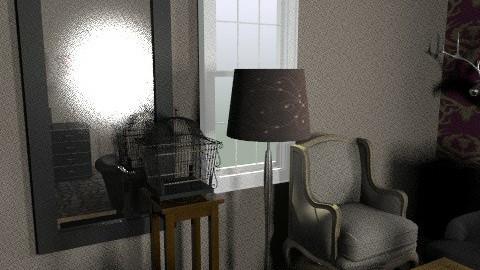 maklari eszter - Glamour - Living room  - by maklarieszter