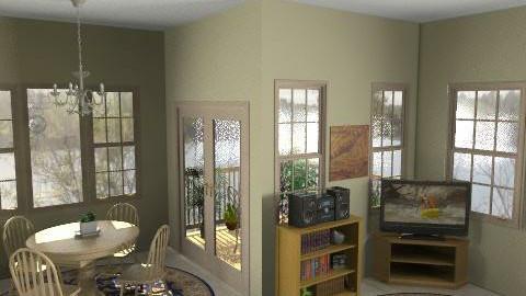 Lake Condo - Country - Living room  - by Jojo63