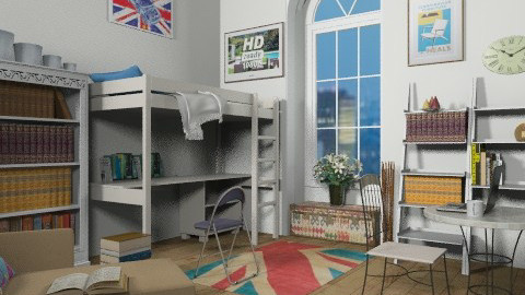 student bedsit - Eclectic - Living room  - by auntiehelen