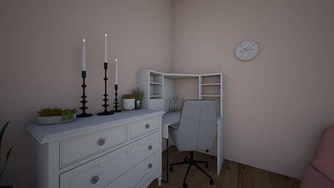 desk - Modern - Bedroom - by Banana543