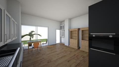 pillar removed - Classic - Kitchen  - by marbetu