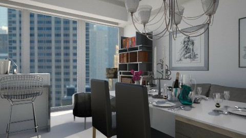 Clean Apartment  - Modern - Dining room - by Marcos Natan