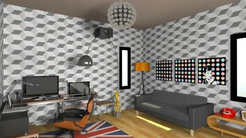 studio dj room2 - Eclectic - Office  - by deedy saleh