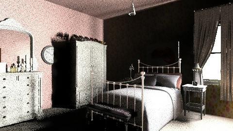 1940s Modern Bedroom 4 - Retro - Bedroom  - by tillsa98