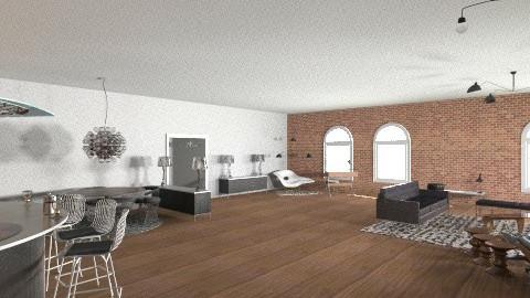 Manhattan - Retro - Living room  - by mario75