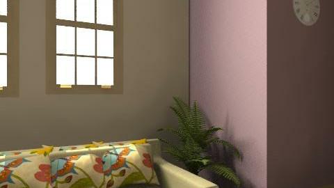 Evelin Bagdan - Glamour - Living room  - by EvelinBagdan