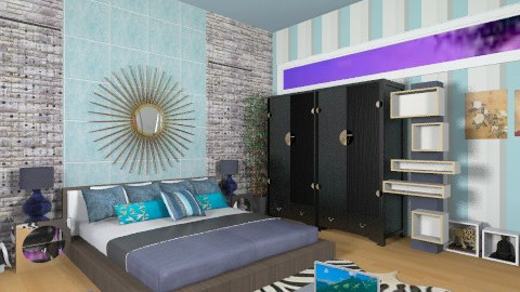 Azul - Eclectic - Bedroom - by AshiraLevana