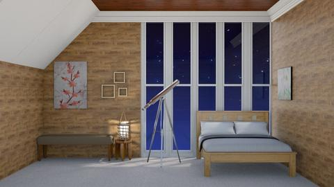 Cozy Attic Bedroom - Bedroom  - by Jahsoftball_