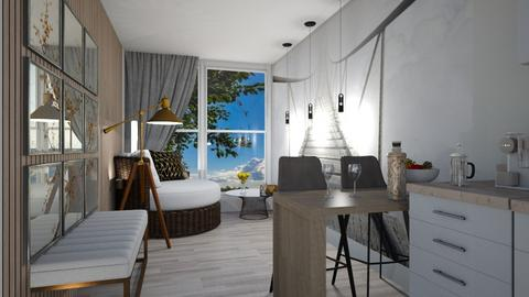 Container homeEwa - Living room  - by ewcia3666