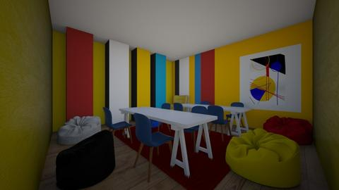 Bauhaus coloured Study - by percy_jackson_geek