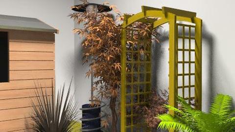 virtualgarden - Rustic - Garden  - by leendave