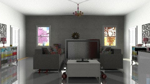 funky - Retro - Living room - by houseexpert