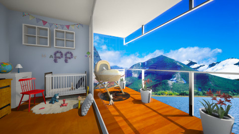 Baby boy - Kids room  - by Noella Louisy