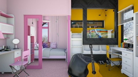 Shared Bedroom - Kids room  - by JayPH