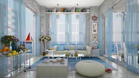 summer feeling  - Eclectic - Living room  - by Ida Dzanovic