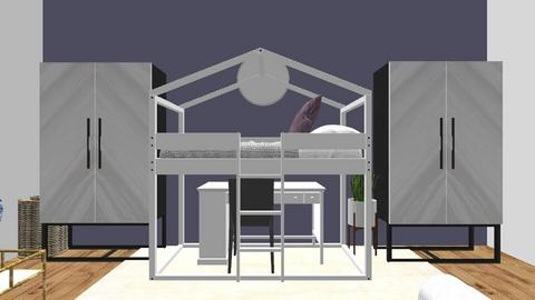 Emmas dream room - Glamour - Bedroom  - by designer408340284