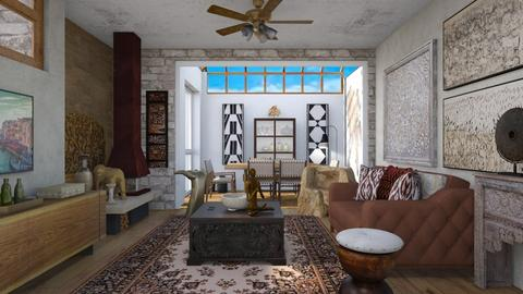 Collector - Eclectic - Living room  - by augustmoon