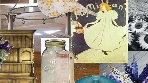 Lavender - Kitchen - by emmachan