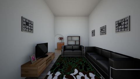 RUANG TAMU - Modern - Living room  - by djokos