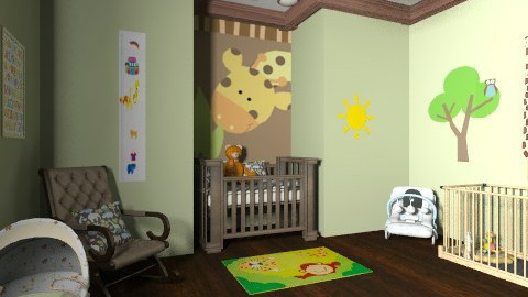 Baby wild room - Kids room  - by AndreaMTorres1
